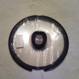 ティファール(T-fal)のT-faLバタフライガラス蓋(26cm)(鍋/フライパン)