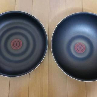 ティファール(T-fal)のT-faLインジニオネオスカイブループレミア/フライパン&ウォックパン(鍋/フライパン)