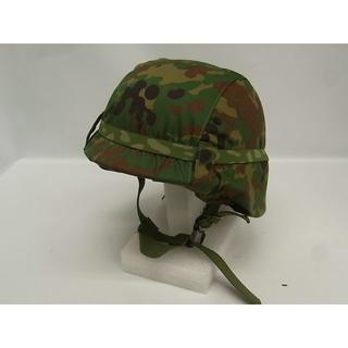 陸上自衛隊 新迷彩 カバー付き Pヘルメット 陸自 防災 地震 アウトドア(個人装備)