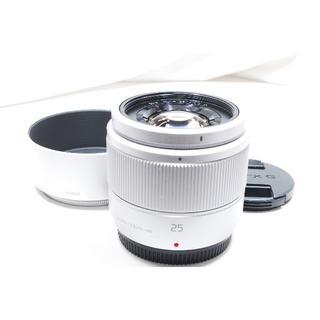 パナソニック(Panasonic)のシャープな描写 パナソニック 単焦点レンズ LUMIX G 25mm F/1.7(レンズ(単焦点))