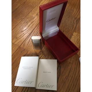 カルティエ(Cartier)のライター(タバコグッズ)