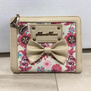 ディズニー(Disney)のミニーちゃん 2つ折り 財布(財布)