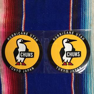 チャムス(CHUMS)の新品 CHUMS Sticker 2枚セット チャムス ステッカー h(その他)