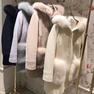 ダズリン(dazzlin)のダズリン foxファーポケットコート(毛皮/ファーコート)