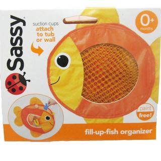 サッシー(Sassy)のSassy タブトイ・バッグ オレンジフィッシュ (知育玩具)