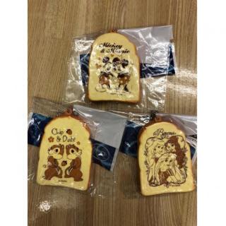ディズニー ミニ バター トースト 3個 A&Bセット(ストラップ)