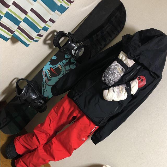 BURTON(バートン)のスノボーウェア 初心者 セット スポーツ/アウトドアのスノーボード(ウエア/装備)の商品写真