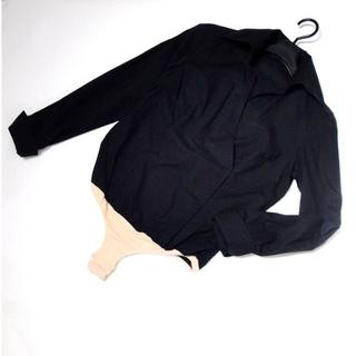 ナラカミーチェ(NARACAMICIE)の【美品】◆NARACAMICIE◆ 黒の カシュクール シャツ Mサイズ(シャツ/ブラウス(長袖/七分))