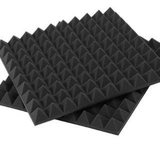 ウレタン防音材 吸音材 ピラミッド 500*500*50mmサイズ 8枚(その他)