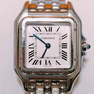 カルティエ(Cartier)の腕時計 中古 美品 カルティエ パンテール SS レディース クォーツ式(腕時計)