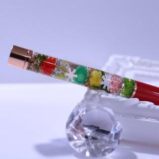 ハーバリウムボールペン クリスマス限定カラー(その他)