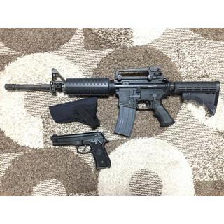 KSC製 ガスガン M4 &東京マルイ製ガスガン M92F セット(ガスガン)
