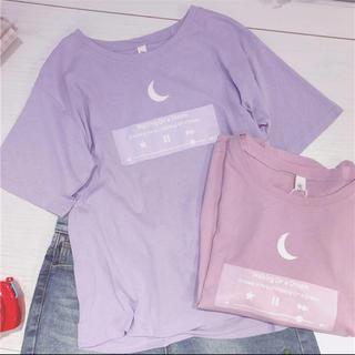 バブルス(Bubbles)の可愛い 原宿 オルチャン  インポート 韓国 シャツ 半袖(Tシャツ(半袖/袖なし))