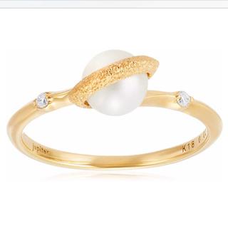ジュピターゴールドレーベル(jupiter GOLD LABEL)のjupiter  プラネットリング  K18(リング(指輪))