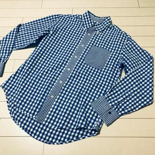 ザショップティーケー(THE SHOP TK)のTHE SHOP TK チェックシャツ M(シャツ)