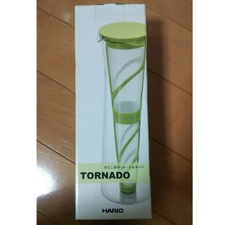 ハリオ(HARIO)の新品未使用 水出し茶ポット トルネード ハリオ MDN-10YY ホワイト(調理道具/製菓道具)