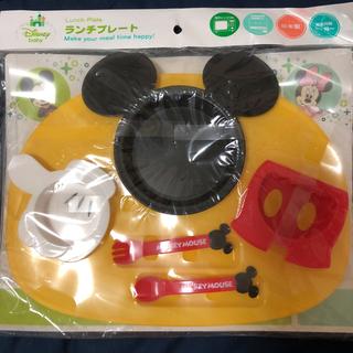 ディズニー(Disney)のミッキー ランチプレート(プレート/茶碗)