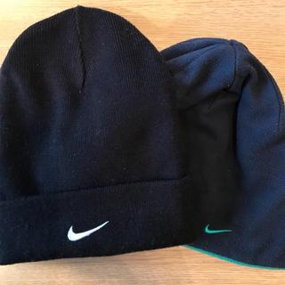ナイキ(NIKE)のNIKE  ニット&フリース帽子2点セット(ニット帽/ビーニー)