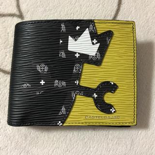 カステルバジャック(CASTELBAJAC)のカステルバジャック 二つ折り 財布 イエロー ブラック (折り財布)