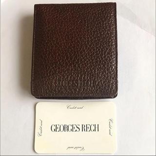 GEORGES RECH レザー二つ折り財布