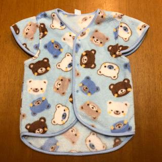 シマムラ(しまむら)のキッズ モコモコふわふわあったかかいまき パジャマ サイズ 100cm(パジャマ)