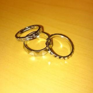 ディーゼル(DIESEL)のDIESEL 3連リング(リング(指輪))