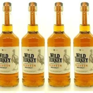 ワイルドターキー スタンダード 4本(ウイスキー)
