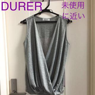 デュレル(Durer)のDURER トップス(カットソー(半袖/袖なし))
