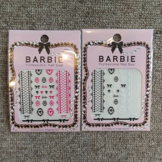 バービー(Barbie)のバービー ネイルシールセット♪(ネイル用品)