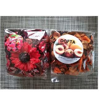 ◆新品◆ポプリ 香り付 レッドガーデンベリー レッド ・ピーチ&オレンジ2袋