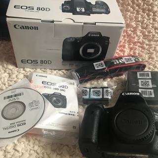 キャノン EOS80D