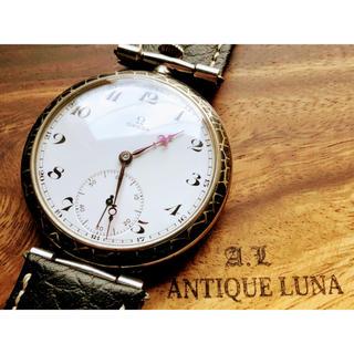 オメガ(OMEGA)のオメガ★OMEGA/高級ブランド/エナメルダイヤル/手巻き腕時計/アンティーク(腕時計(アナログ))