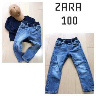 ザラ(ZARA)のザラ デニム 100(パンツ/スパッツ)