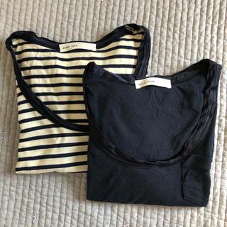 サカイラック(sacai luck)の出品は11月末まで 2枚セット sacailuck トップス(Tシャツ(長袖/七分))