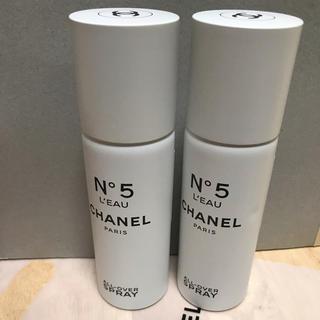 シャネル(CHANEL)のシャネル No.5 ローオールオーバースプレー ヘア&ボディミスト  2本(その他)