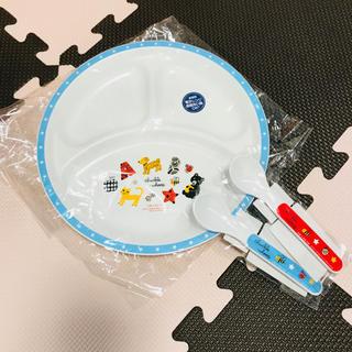 ラブアダブダブ(rub a dub dub)のランチプレート スプーン  セット  子ども  赤ちゃん   (プレート/茶碗)