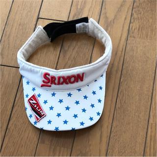 スリクソン(Srixon)のスリクソンのサンバイザー 女性用(その他)
