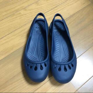 クロックス(crocs)のクロックス・マリンディー。サイズW5(サンダル)