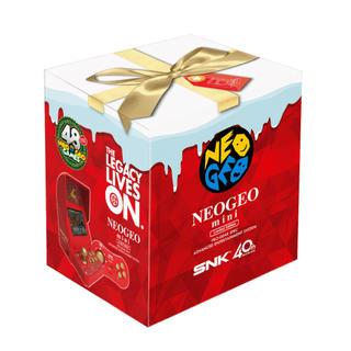 ネオジオ(NEOGEO)のNEOGEOmini クリスマス限定版(家庭用ゲーム本体)