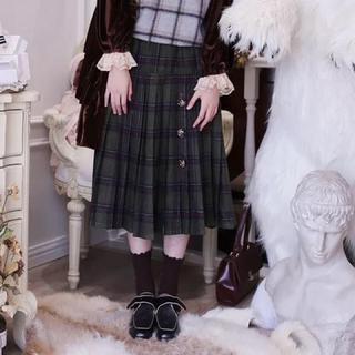 メリージェニー(merry jenny)のチェックスカート(ひざ丈スカート)