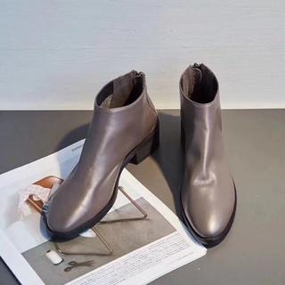 スチュワートワイツマン(Stuart Weitzman)のStuart Weitzman ブーツ 36 グレー 3.5cm(ブーツ)