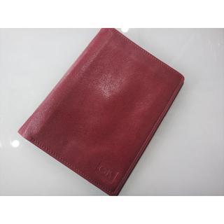 カランダッシュ(CARAN d'ACHE)の★未使用 美品 カランダッシュ ウォレット 二つ折り財布 ボルドー★(折り財布)