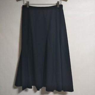 エーティー(A/T)のA/T 黒のフレアースカート(ひざ丈スカート)