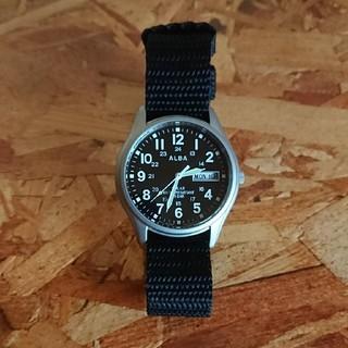 アルバ(ALBA)のSEIKO アルバ ソーラーウォッチ 男女兼用(腕時計(アナログ))