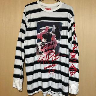 ステイプル(staple)のSTAPLE ステイプル L/T ロンT 長袖Tシャツ ボーダー(Tシャツ/カットソー(七分/長袖))