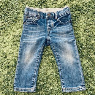 ベビーギャップ(babyGAP)のbabygap デニムパンツ 6-12m 70(パンツ)