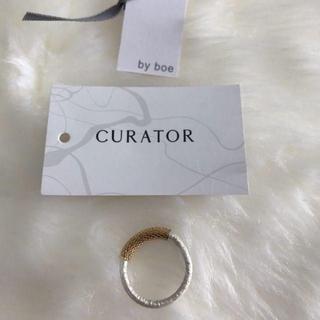 キュレーター(CURATOR)のcurator リング指輪  新品未使用超お買い得(リング(指輪))