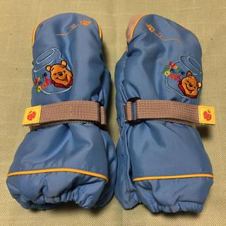 ディズニー(Disney)のディズニー くまのプーさん⭐️スキー手袋 キッズ⭐️水色(その他)