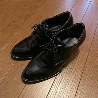 スライ(SLY)のSLY オックスフォード ブラック(ローファー/革靴)