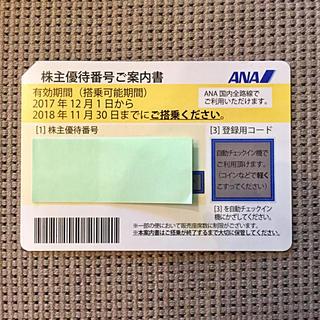 エーエヌエー(ゼンニッポンクウユ)(ANA(全日本空輸))のANA (全日空) 株主優待券(その他)